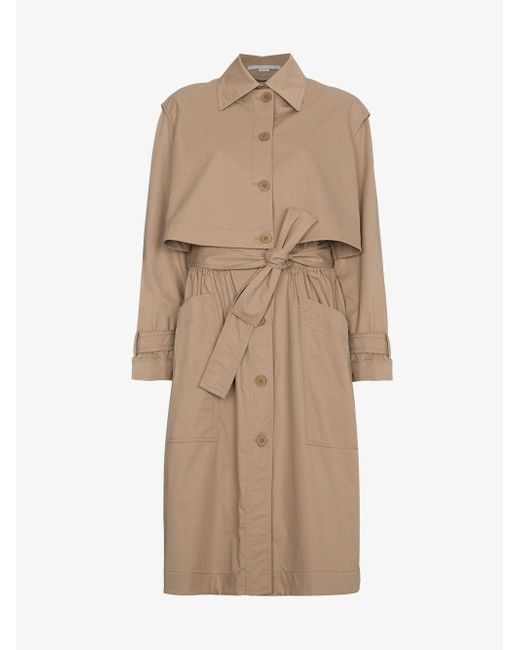 Stella McCartney - Brown Hailey Trench Coat - Lyst