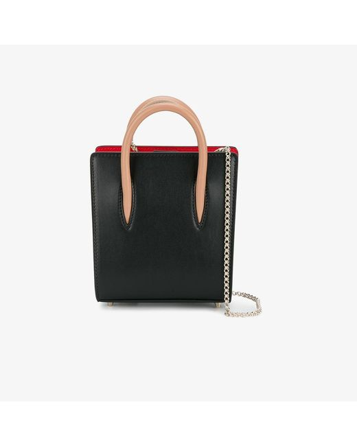 Christian Louboutin | Black Nano Paloma Crossbody Bag | Lyst