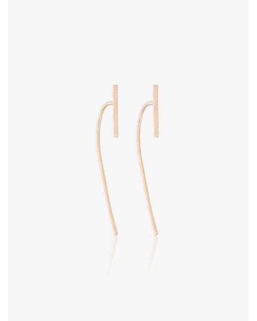 Melissa Joy Manning - Metallic Large Curved Bar Earrings - Lyst