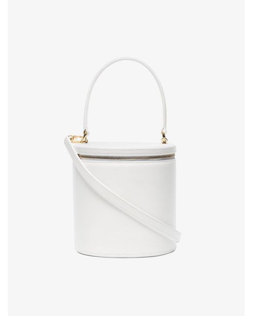 Staud white Vitti leather bucket bag Cheap Shop For Amazon Footaction Fake 2018 Unisex For Sale Hot Sale nNB7BRF