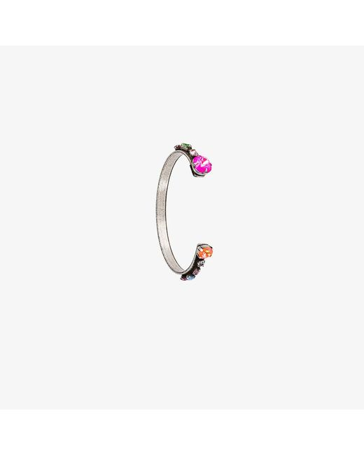 DANNIJO   Metallic Swarovski Crystal Laniyan Bracelet   Lyst
