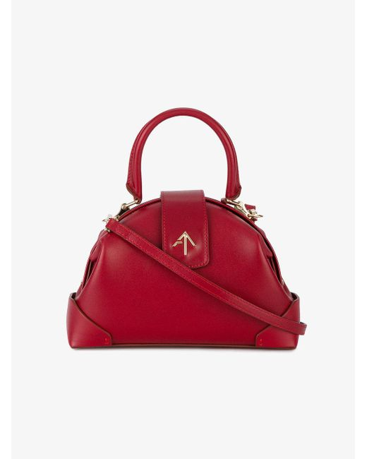 MANU Atelier - Red Arrow Pin Tote Bag - Lyst