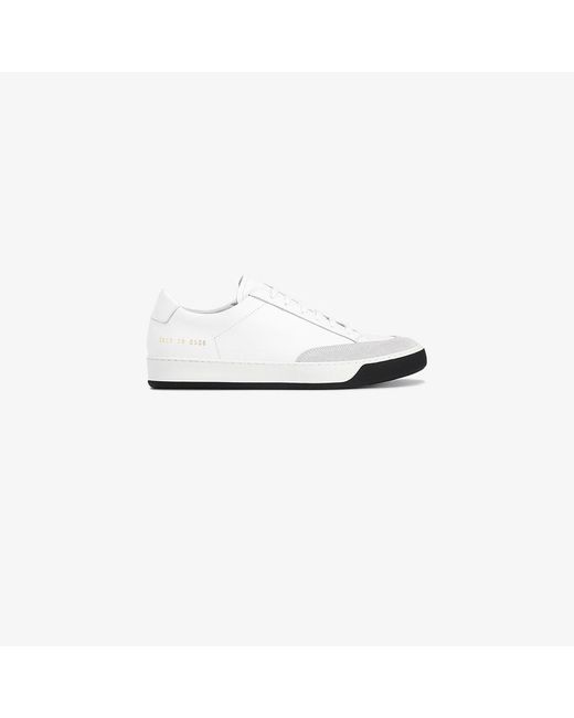 Common Projects | White Tennis Pro Low-top Sneakers | Lyst