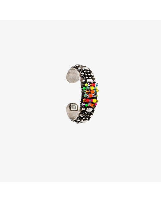 DANNIJO | Metallic Beaded Cuff Bracelet | Lyst