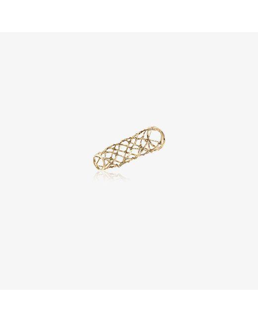 Gaelle Khouri | Metallic Connection Ring | Lyst