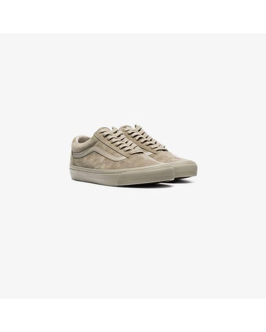 3e4dc2827b Vans - Multicolor Taupe Vault Low Top Suede Sneakers for Men - Lyst ...