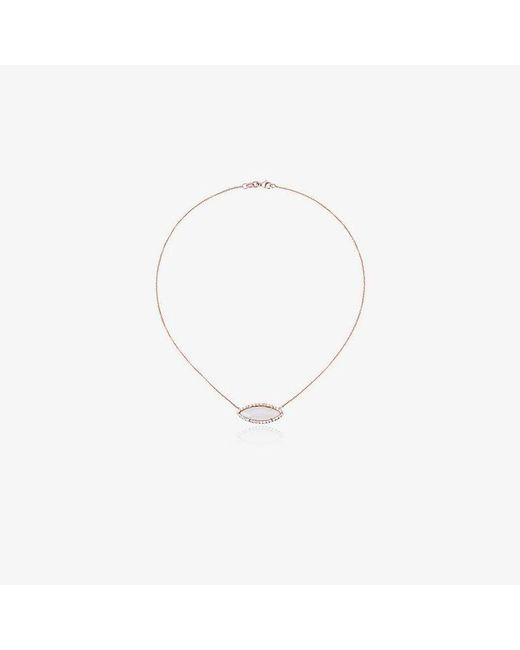 Kimberly Mcdonald - Metallic Diamond And 18kt Rose Gold Opal & Pendant Necklace - Lyst
