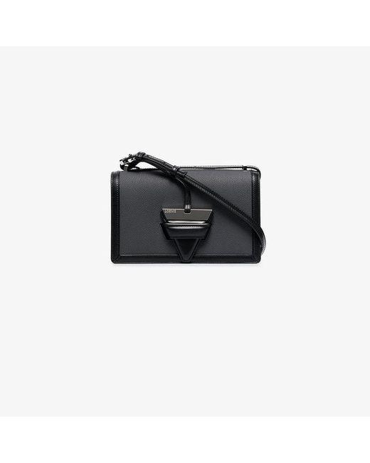 Loewe - Black Barcelona Shoulder Bag - Lyst