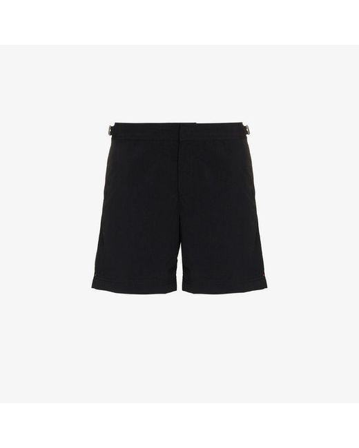 29167598bd8 Orlebar Brown - Black Bulldog Swim Trunks for Men - Lyst ...