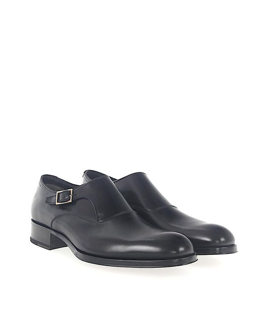 Tom Ford - Single-monk Calfskin Black for Men - Lyst