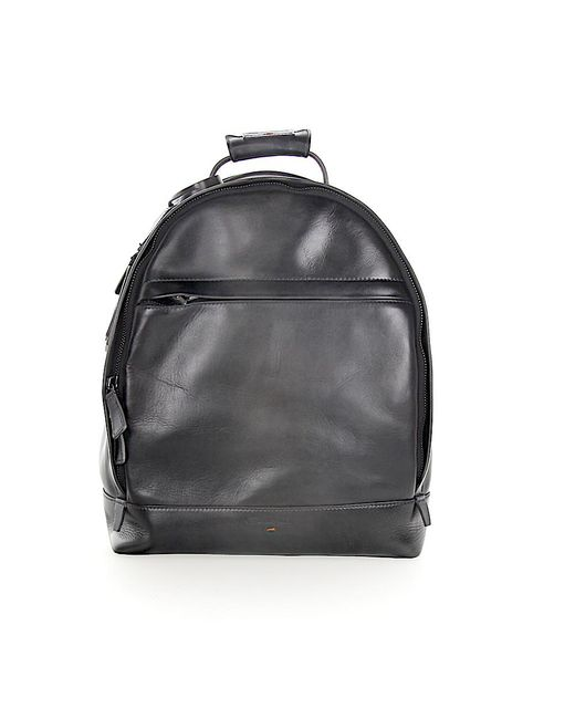 Santoni - Gray Men Backpack A1764 Leather Grey for Men - Lyst