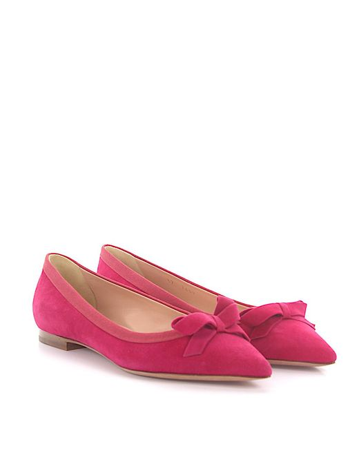UNüTZER Ballerinas 7459 suede bow Buy Cheap Find Great Cheap Sale Low Cost New Arrival Sale Online Cheap Sale Pay With Paypal Free Shipping Outlet Store QhPhp