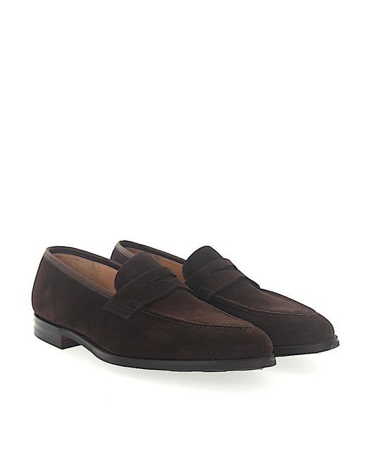 Crockett and Jones - Brown Loafers Sydney for Men - Lyst