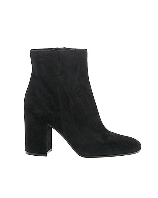 Gianvito Rossi - Ankle Boots Black Rolling 85 - Lyst