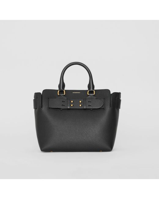0c0b74d813eb Burberry - Black The Small Leather Belt Bag - Lyst ...