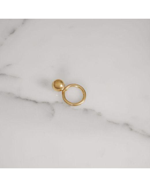 Burberry Charm Palladium-plated Ring CrSIqT