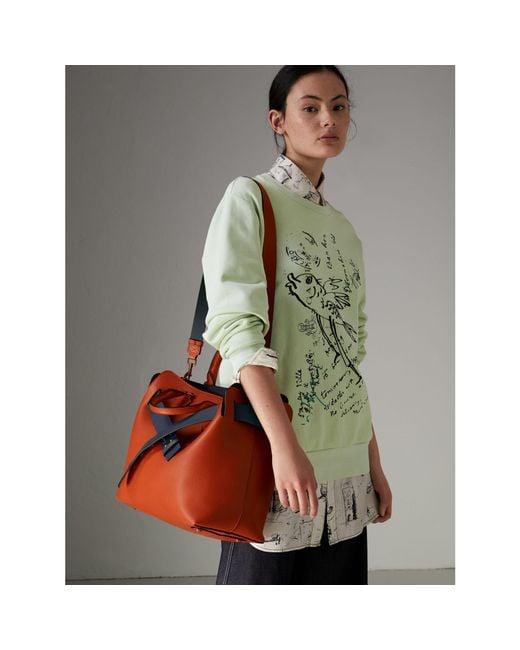 6bb9d037d3b0 ... buy burberry multicolor the medium leather belt bag lyst 37853 477c8