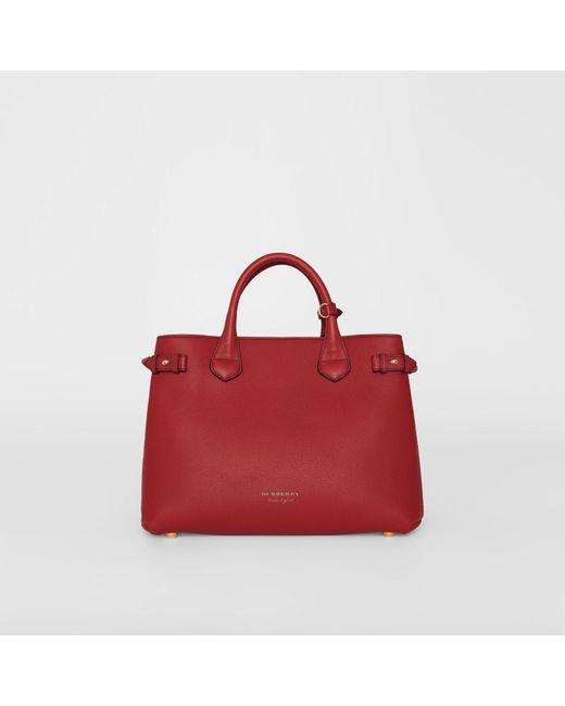 Burberry - Multicolor The Medium Banner Shoulder Bag - Lyst