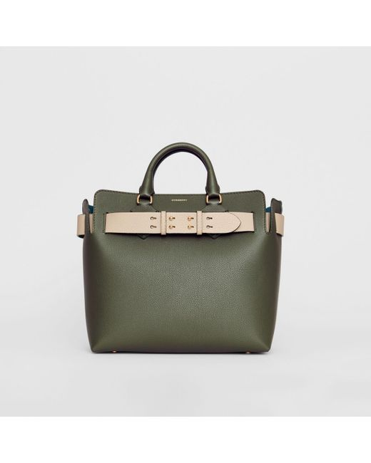 87c27a0fd303 Burberry - Green The Medium Leather Belt Bag - Lyst ...