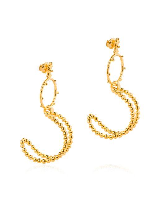 Paula Mendoza   Metallic Bubble Earrings   Lyst