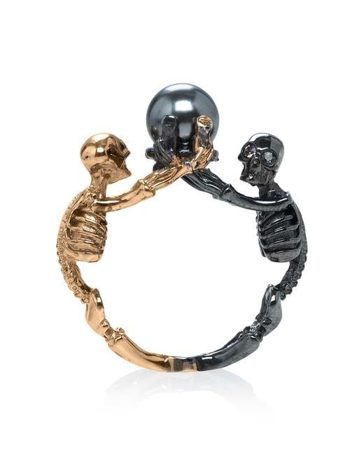Alexander McQueen | Multicolor Royal Skull Ring | Lyst