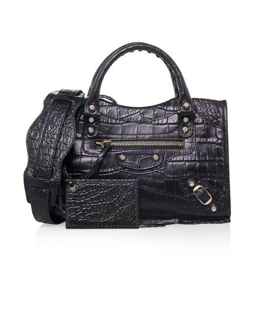Balenciaga | Black Giant Mini City Tote Bag | Lyst