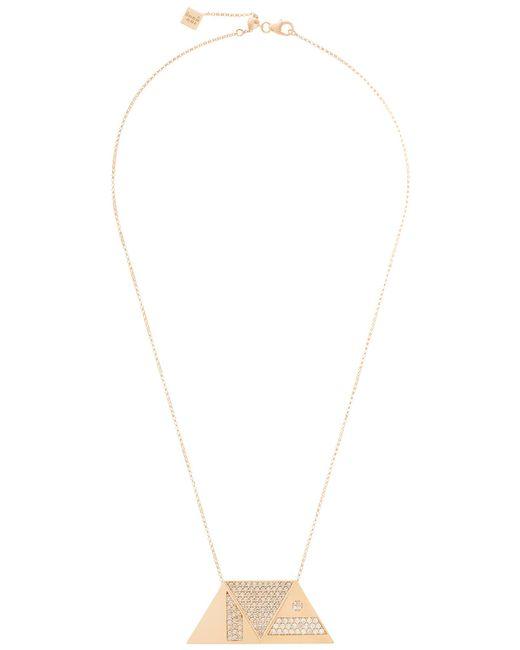 Shamsa Alabbar | Metallic Tricrop Necklace No.2 | Lyst