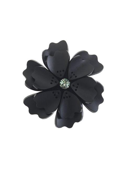 Forest Of Chintz | Black Flower Brooch | Lyst