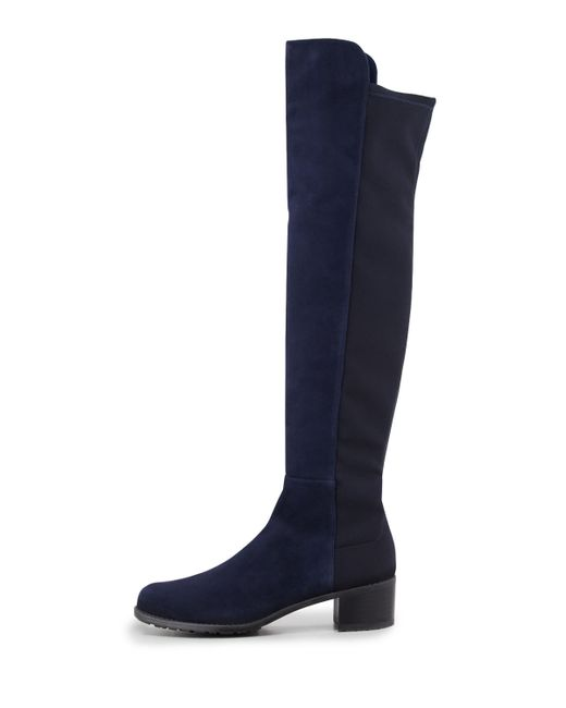 stuart weitzman reserve suede stretch the knee boot