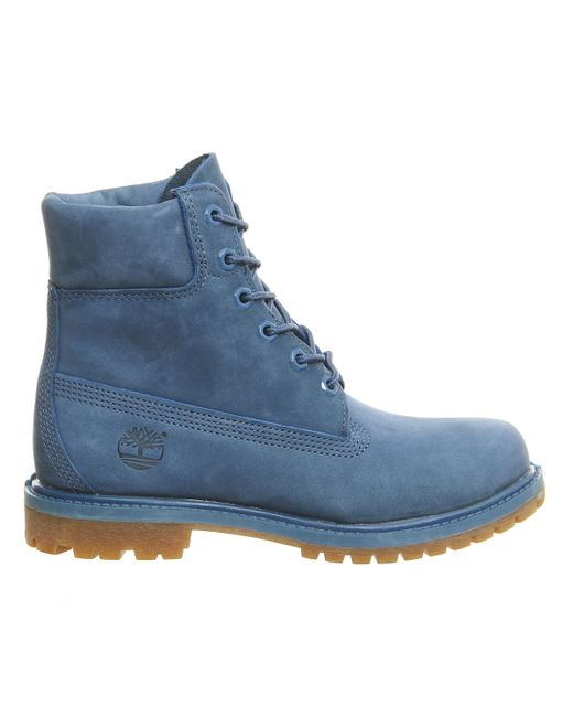 Timberland Premium 6 Boots In Blue Save 35 Lyst