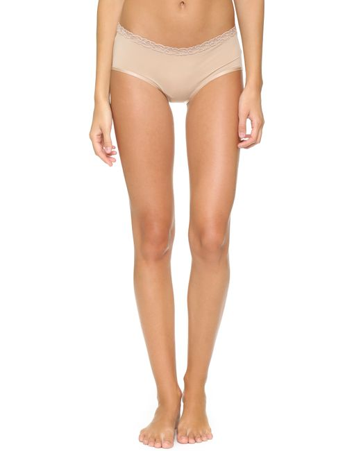 Natori | Natural Bliss Girl Shorts | Lyst