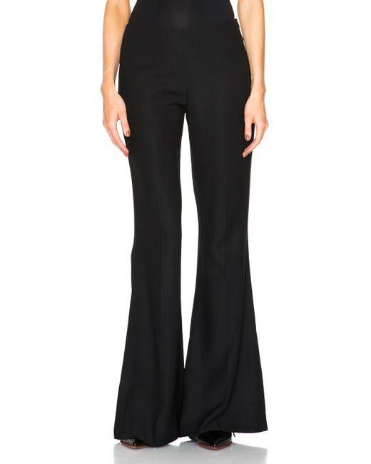 Acne | Black Mello Flare Pants | Lyst