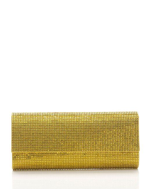 Judith Leiber Couture   Green Ritz Fizz Crystal Evening Clutch Bag   Lyst