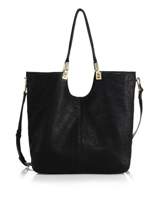 Elizabeth and James | Black Cynnie Convertible Tote | Lyst