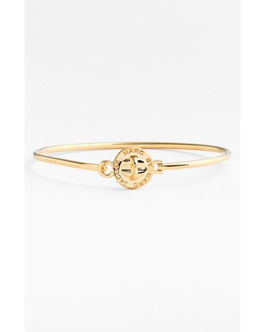 Marc By Marc Jacobs | Metallic 'turnlock' Skinny Bangle | Lyst