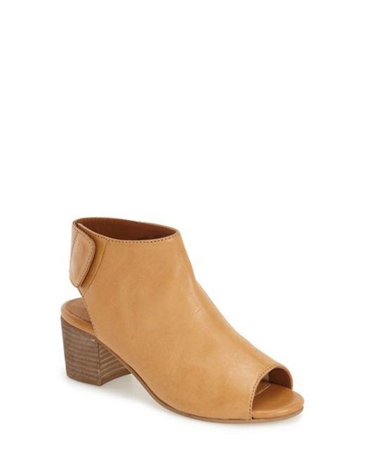 Dune Black Leather Peep Toe Shoe Boots