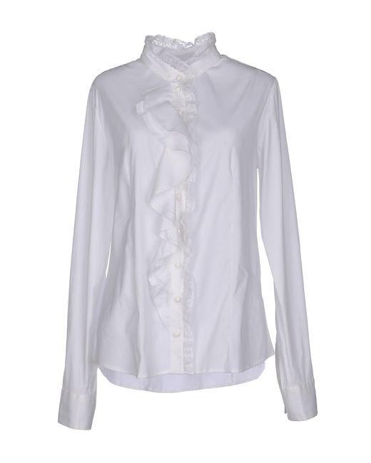 Pinko | White Shirt | Lyst