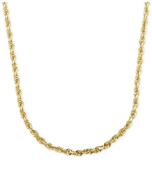 Macy's | Metallic Triangle Lariat Necklace In 14k Gold | Lyst