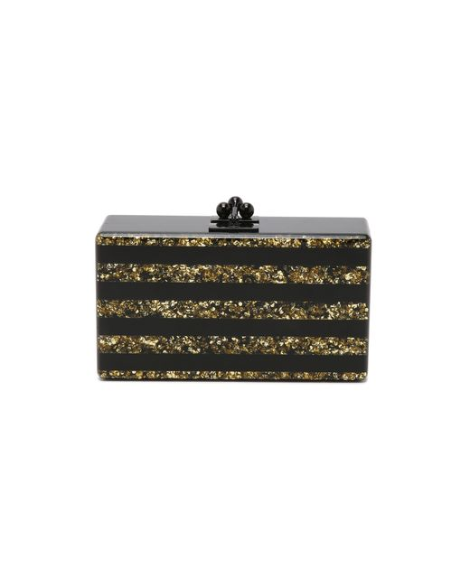 Edie Parker | Metallic Jean Striped Clutch | Lyst