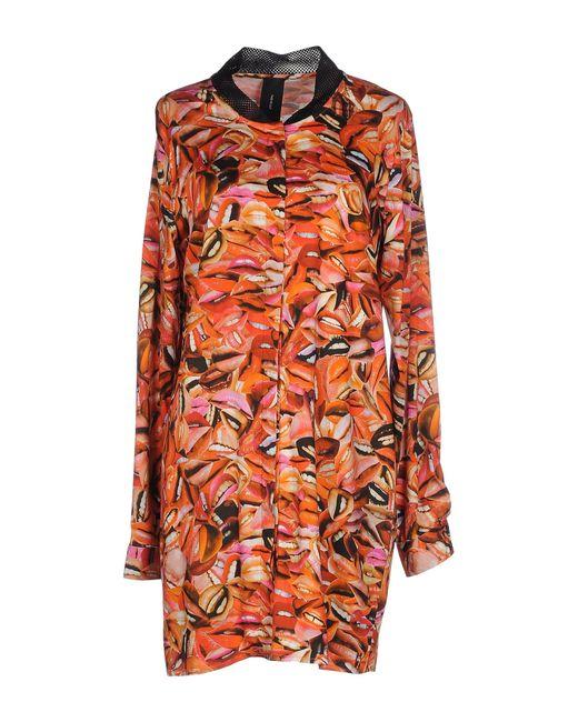 YMC   Black Short Dress   Lyst