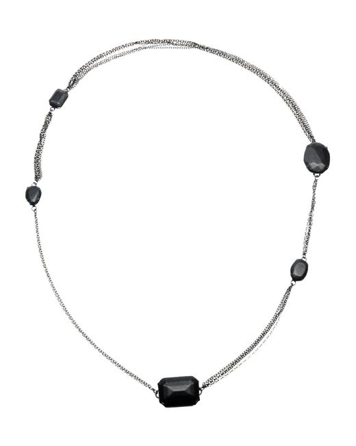 Masnada | Black Necklace | Lyst