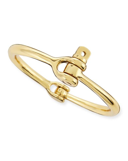 Miansai | Metallic Reeve Gold-Plated Bracelet | Lyst