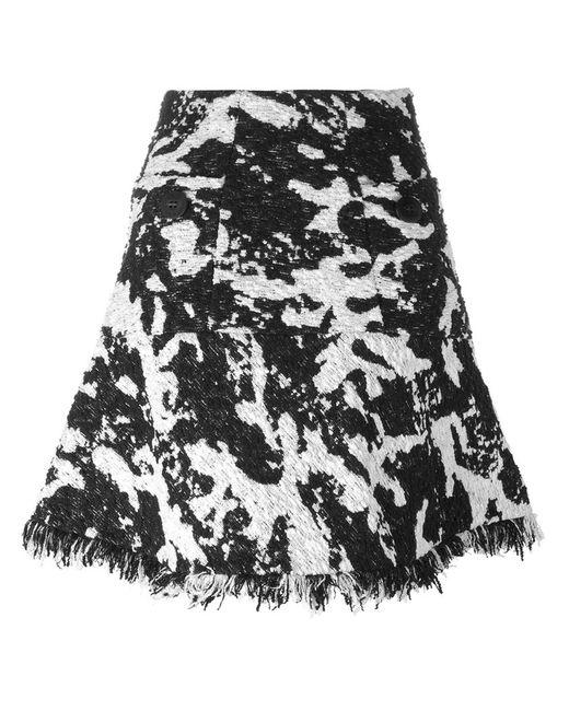 Neil Barrett | Black Knee Length Skirt | Lyst