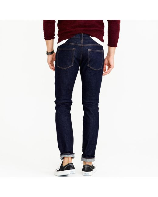 J.Crew | Blue 484 Stretch Jean In Indigo for Men | Lyst