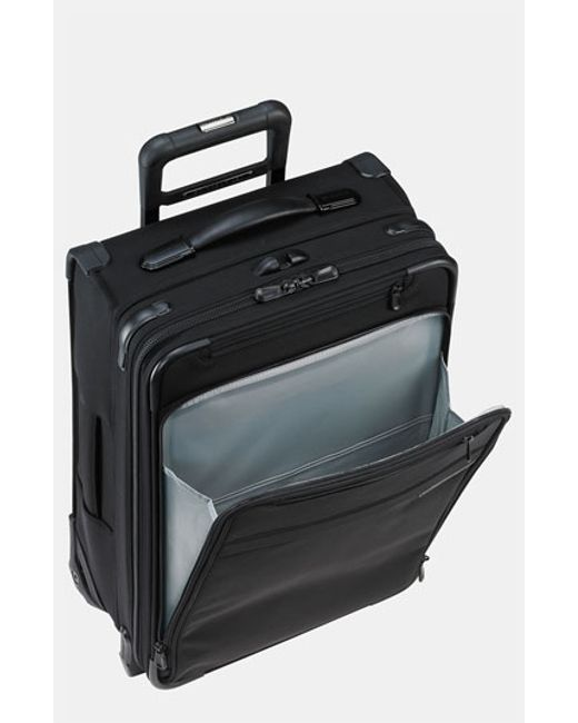 Briggs & Riley | Black 'medium Baseline' Expandable Packing Case for Men | Lyst