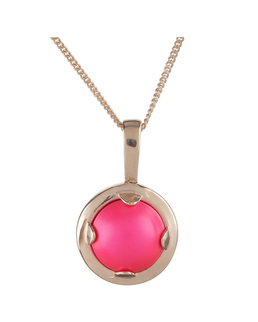 Cabinet | Pink 18ct Rose Gold Plated Mini Oyster Pearl Necklace | Lyst