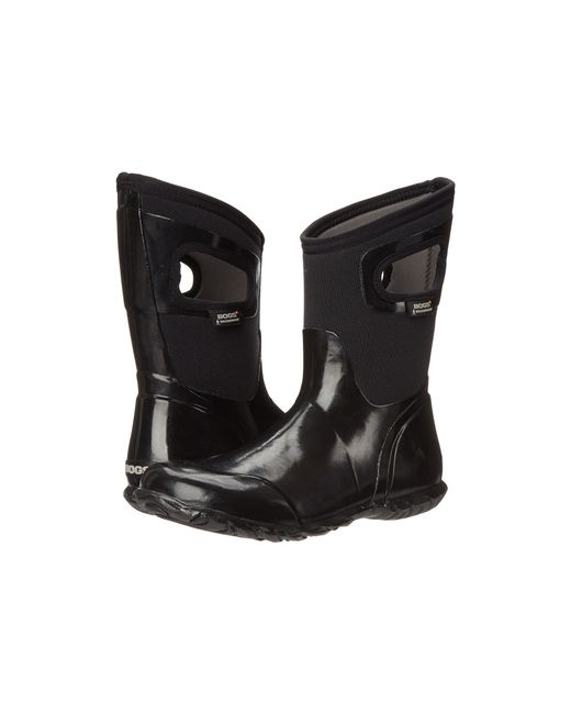 Bogs | Black North Hampton Solid Mid | Lyst