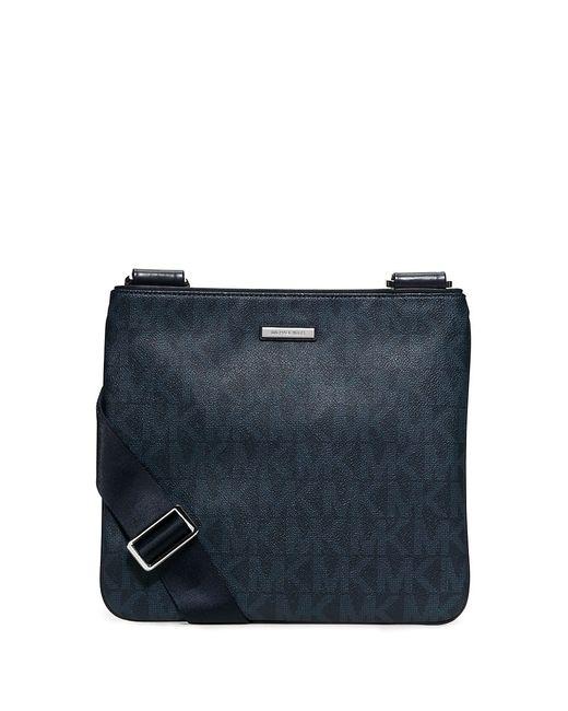 Michael Kors | Blue Slim Flat Crossbody Bag for Men | Lyst