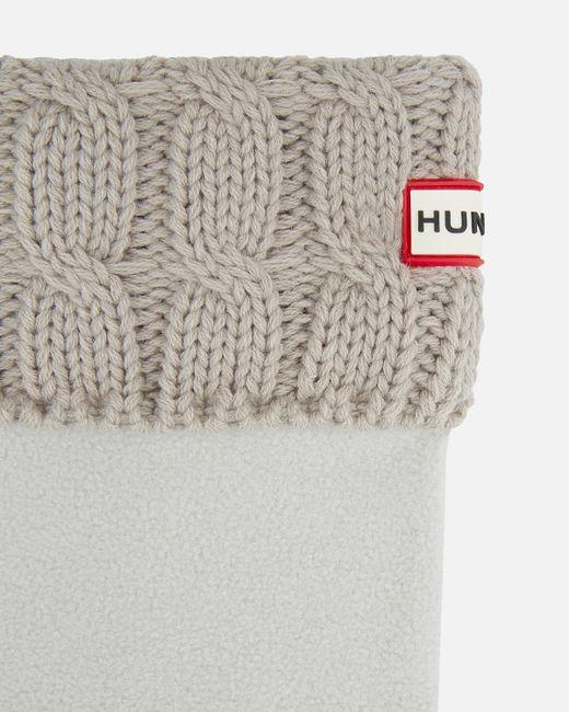 Hunter   Gray Unisex Original Six-stitch Cable Boot Socks   Lyst