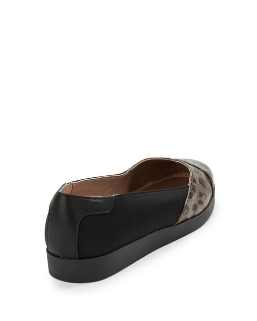 Me Too | Gray Bridget Slip-on Platform Flats | Lyst